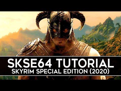 How To Install SKSE64 For Skyrim Special Edition (2020) - Script Extender V2.0.17