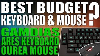 Gamdias Ares Keyboard + Ourea Mouse Combo Review (Best Budget Keyboard & Mouse)