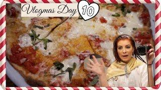 ❄ VLOGMAS 2015 ❄ Day 10 ❄ California Pizza Kitchen & Coloring my Hair!