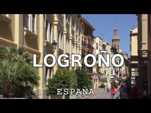 【full-hd】el-turismo-a-logroño-en-la-rioja,-españa-r¡i¡-/-spain