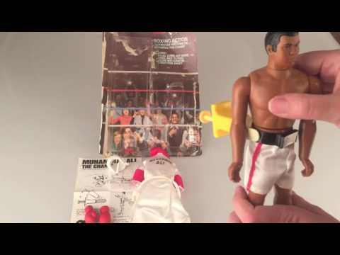 Muhammad Ali Action Figure - 1976 Boxing Mego In Action