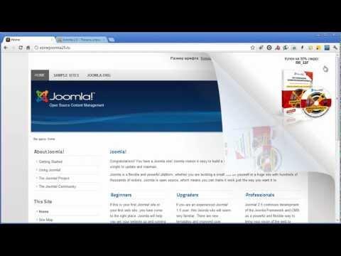 Эффект дразнящего уголка для Joomla-сайта