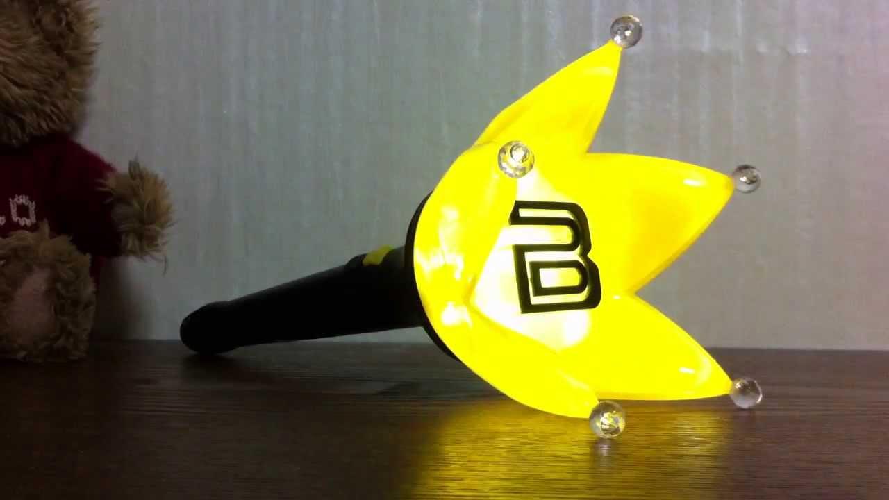 BigBang Light Stick Ver.4 Actmode   YouTube Idea