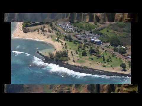 kekaha kai state park in the Hawaii