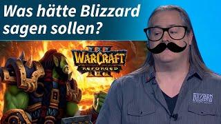Warcraft 3 Reforged: Was hätte Blizzard sagen sollen?