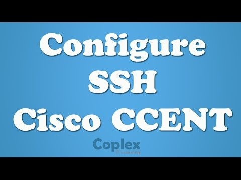 How to Configure SSH on a Cisco Router or Switch