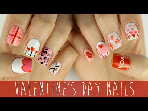 Nail Art for Valentine's Day: The Ultimate Guide! - YouTube