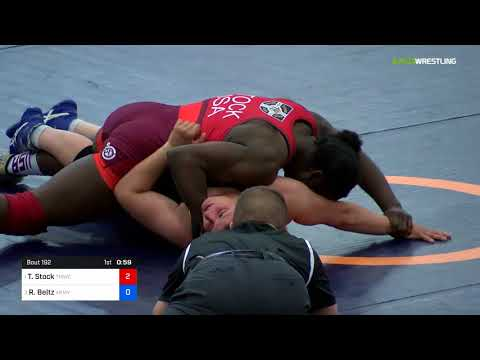 2018 Marine Corps US Open/Senior Women's Freestyle 68 Finals - Tamyra Mensah-Stock Vs. Randyll Beltz