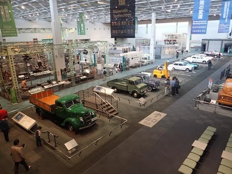 Toyota Commemorative Museum of Industry and Technology Nagoya Japan