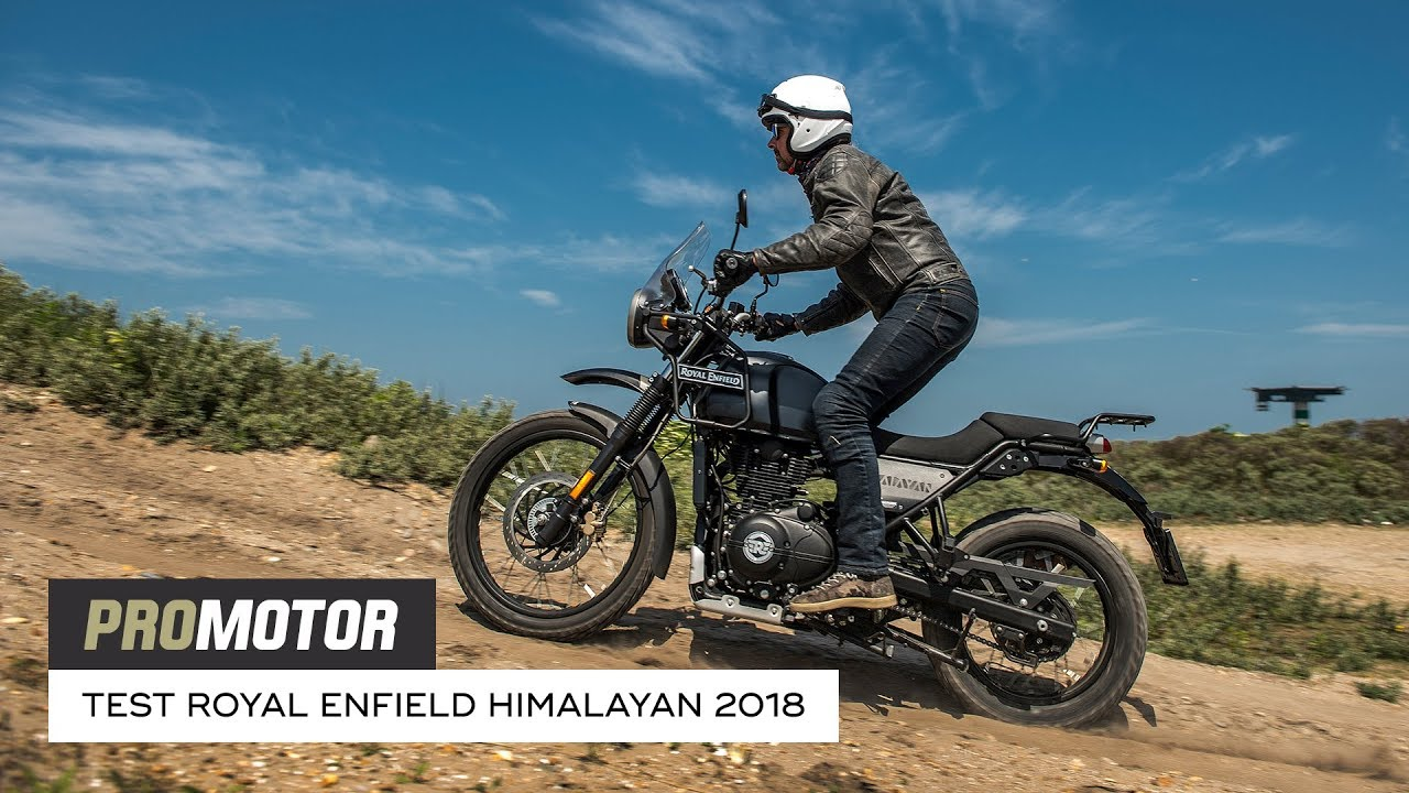 Royal Enfield Himalayan 2018 Test Promotor Youtube