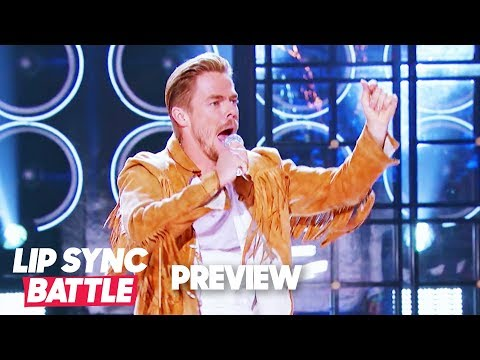 """Derek Hough Performs """"Any Man of Mine"""" for Shania Twain Tribute 