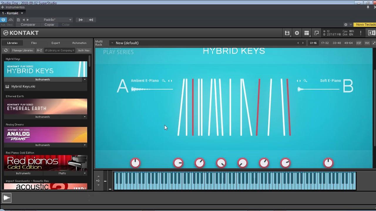 native instruments hybrid keys 1.0.0 kontakt