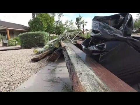 EF-1 Tornado Confirmed In North Phoenix Area