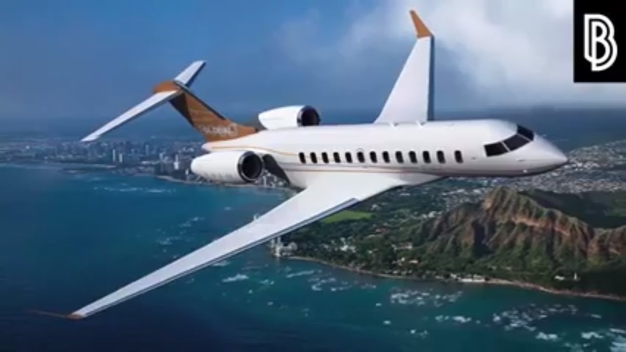 Expensive Private Jets Of Billionaires Golden Interior