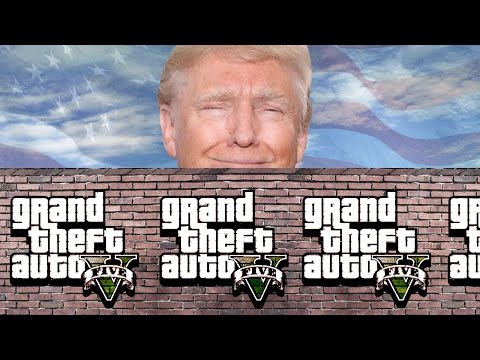 BATTLE FOR TRUMP'S WALL - GTA 5 Gameplay