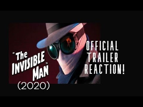The Invisible Man (2020) Official Trailer Reaction!
