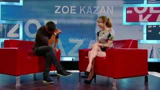 Zoe Kazan on George Stroumboulopoulos Tonight: Interview
