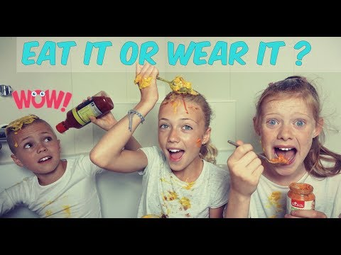 Eat it or wear it challenge met kim en jens!