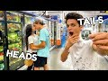 Download Mp3 CRAZY DARES IN PUBLIC WITH FRIENDS!! (COIN FLIP CHALLENGE) | Brent Rivera