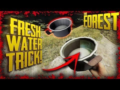 Quick Tips - Turn Polluted Water into CLEAN Water using RAIN | The Forest