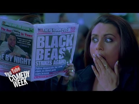 Black Beast on the Loose - Kabhi Alvida Naa Kehna - Comedy W