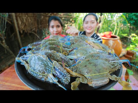 Steaming Blue Crab Recipe - Cooking With Sros