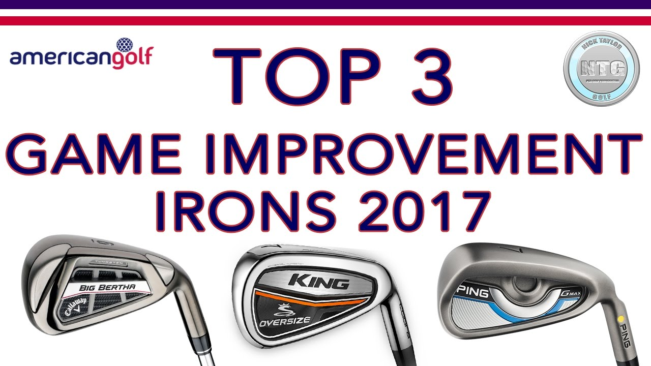 Top 3 Improvement Irons In 2017 Review American Golf