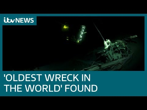 2,400 year old Greek trading vessel discovered | ITV News