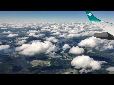 Full Flight Turin to Munich. Lufthansa LH1897. Embraer ERJ-195LR. I-ADJN.