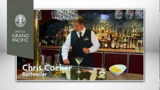Earl Grey Martini At Hotel Grand Pacific
