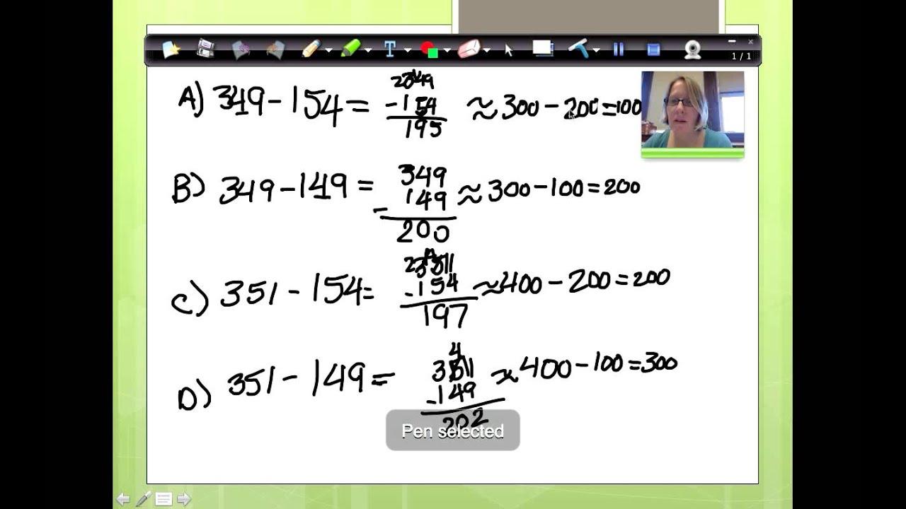 Ny Common Core 3rd Grade Math Module 2 Lesson 20