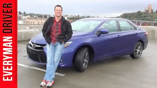 2015 Toyota Camry on Everyman Driver (First Drive Review)