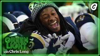 Todd Gurley reacts to being released by the Rams and signed by the Falcons | Chalk Media