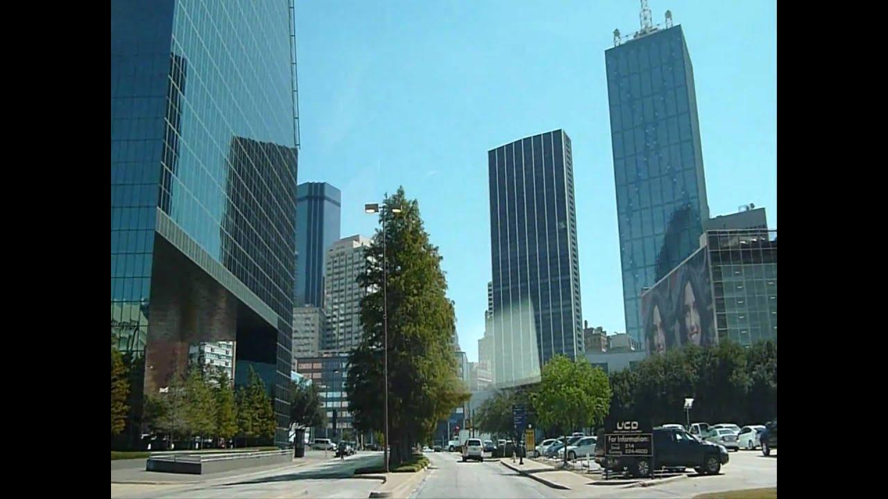 Drive In Downtown Dallas Texas