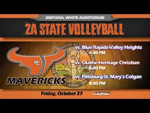 2A State Volleyball (10.27.17)