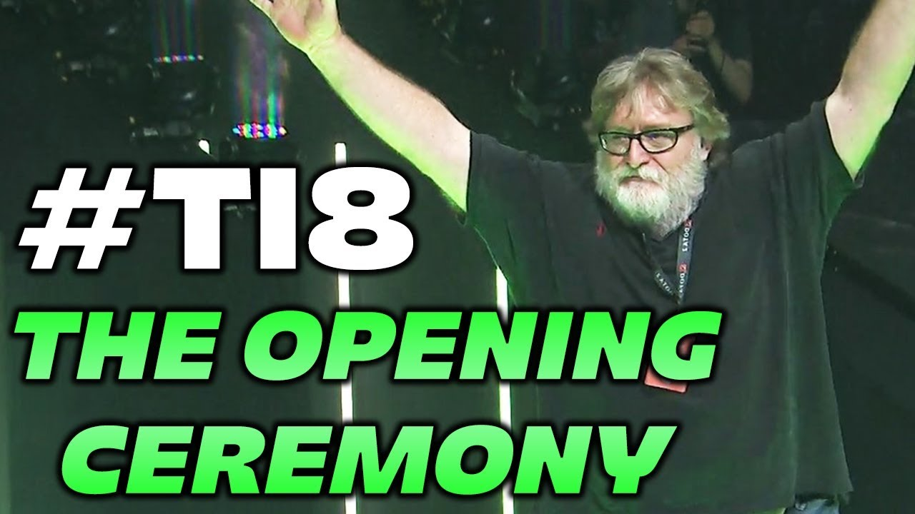 THE INTERNATIONAL 2018 | OPENING CEREMONY DOTA 2