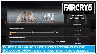 FAR CRY 5- White Collar Job Live Event Returns!!!