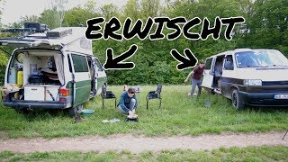 BEIM WILDCAMPEN ERWISCHT | Heimreise Making Of #4