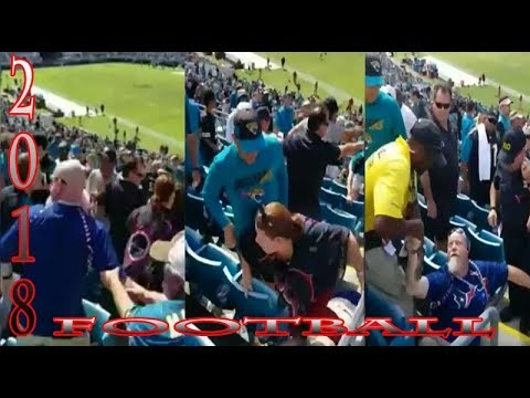 A Brawl Broke Out During a Jaguars vs Texans #Football Game