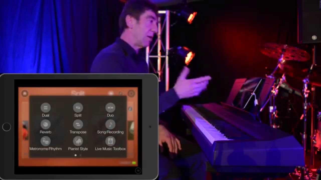 yamaha digital piano controller app p115 youtube. Black Bedroom Furniture Sets. Home Design Ideas