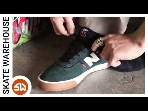 Jamie Foy Reviews His New Balance 306 Shoe