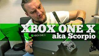 Распаковка Xbox One X - самой мощной консоли?