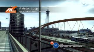 Ridge Racer 6 Xbox 360 720P gameplay