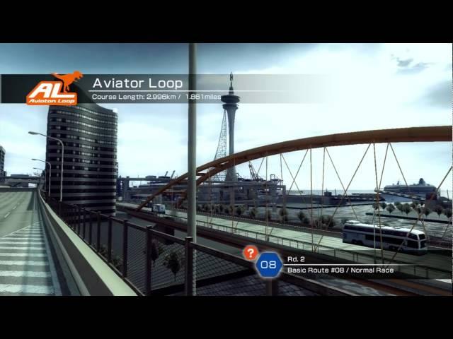 Ridge Racer 6 Xbox 360 720P gameplay