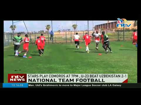 Harambee  Stars play Comoros in Morocco in a bid to bounce back after coach Put quit
