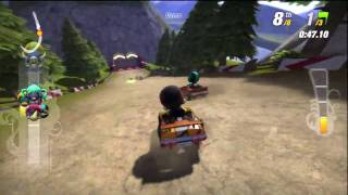 Modnation Racer Demo PS3 Gameplay HD