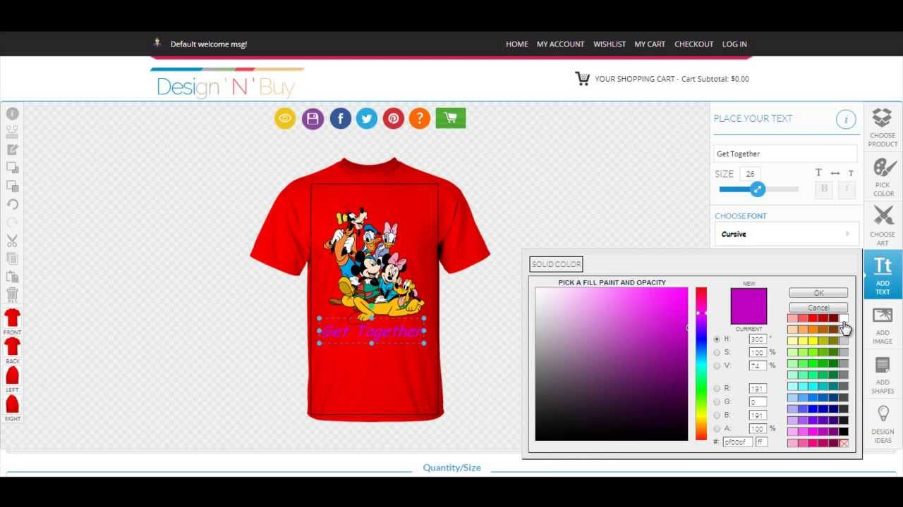 Shirt design software download