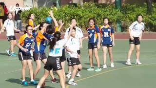 學界精英手球賽 女子組第一輪 元朗商會中學vs瑪利諾修院學校