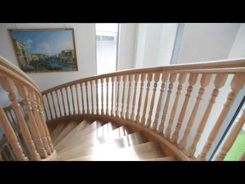 Hardwood Spiral Staircases - Handmade staircase