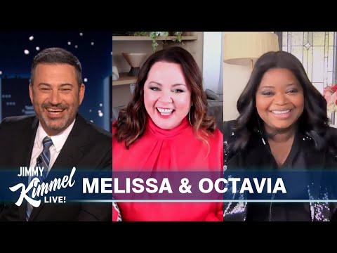 Melissa McCarthy & Octavia Spencer on Playing Superheroes, Messing with Jason Bateman & Prank on Set